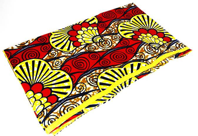 African Print Head Wrap - Visions - A'Maze Africa - 2