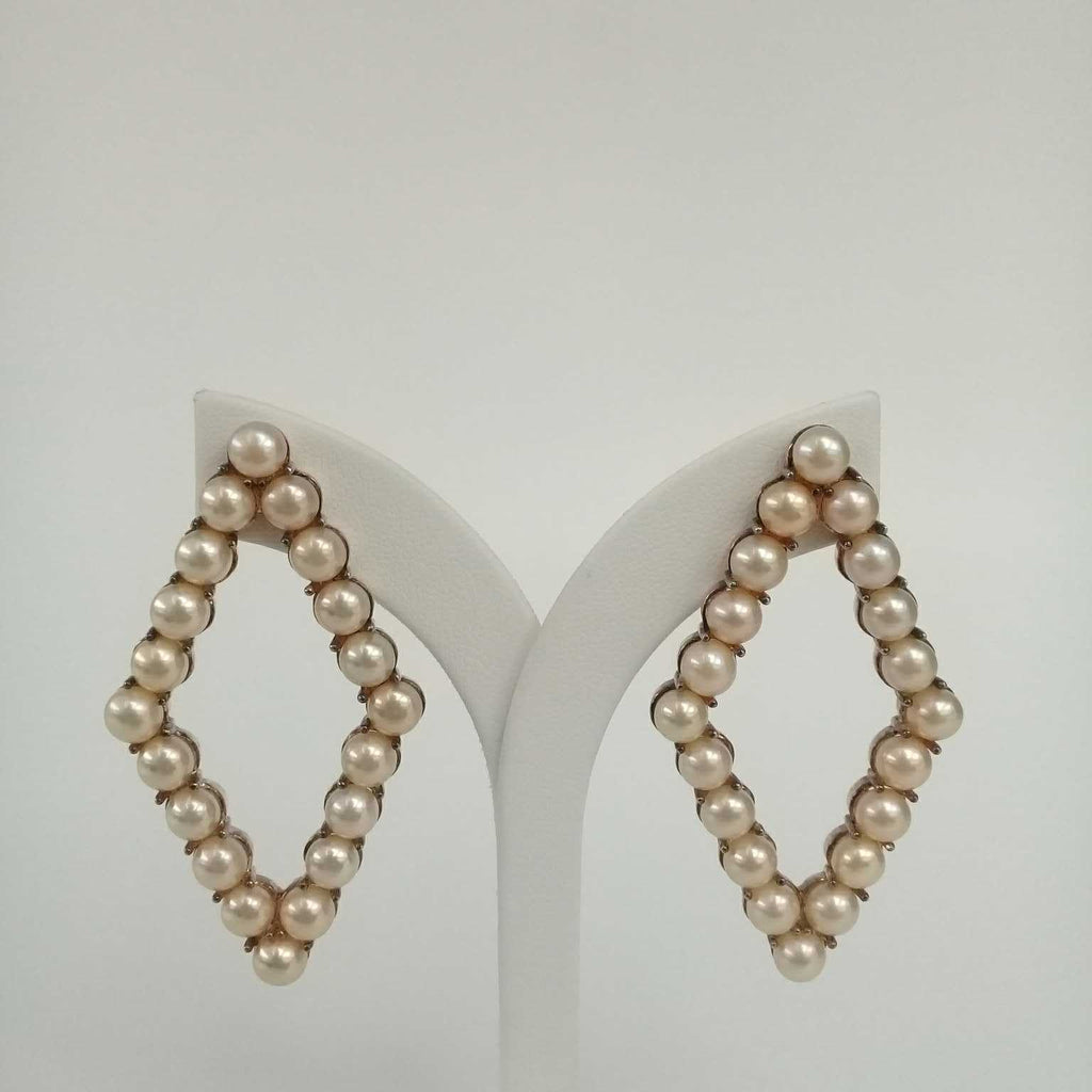 EC_APD_PG Earring Classic All Pearl Daimond