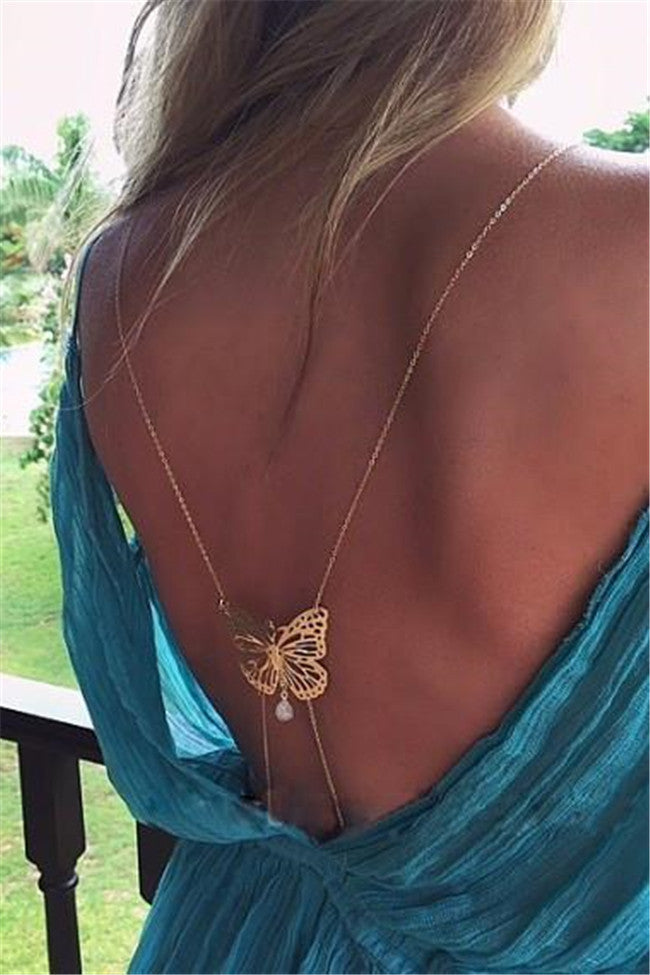 Matisa Butterfly Body Chain