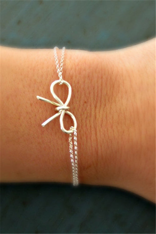 Chicnico Cute Bow Tie Bracelet Or Anklet