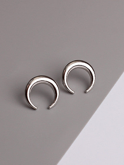 Chicnico Simple Exquisite Moon Alloy Earring