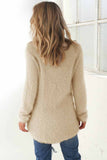 Fashion Soft Pure Color Cute Sweater