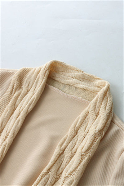 Chicnico Irregular Hem Cardigan