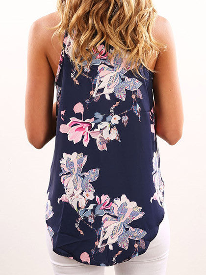 Chicnico Chain Reaction Fashion Floral Print Top
