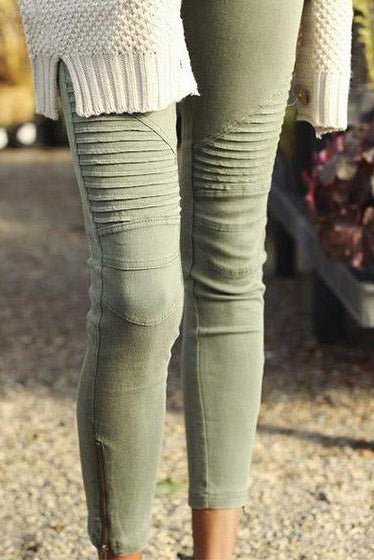 Chicnico Olive Piper Jegging