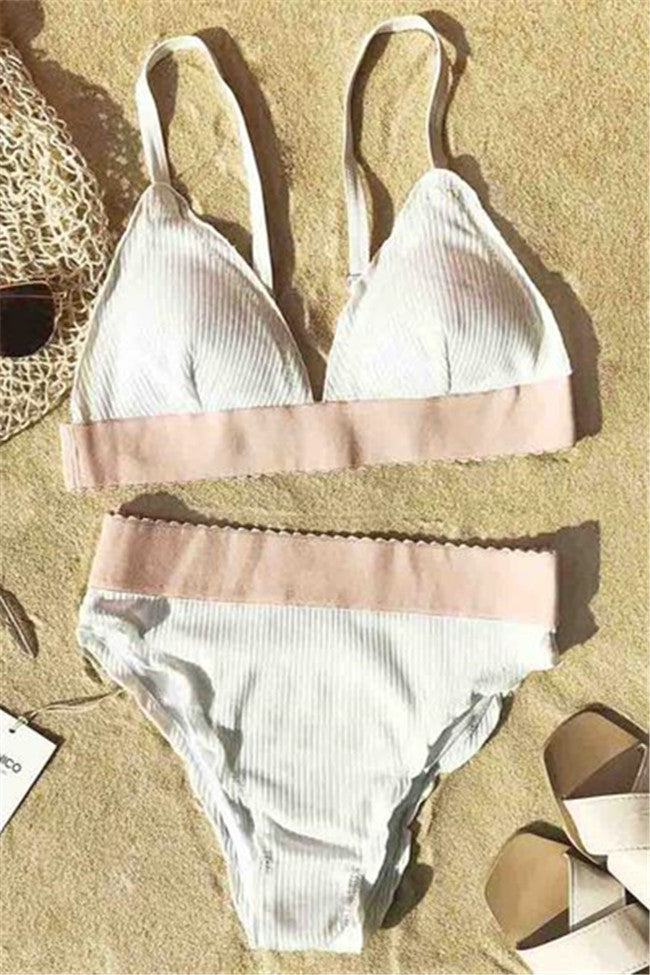 Chicnico To The Beach Bikini Set