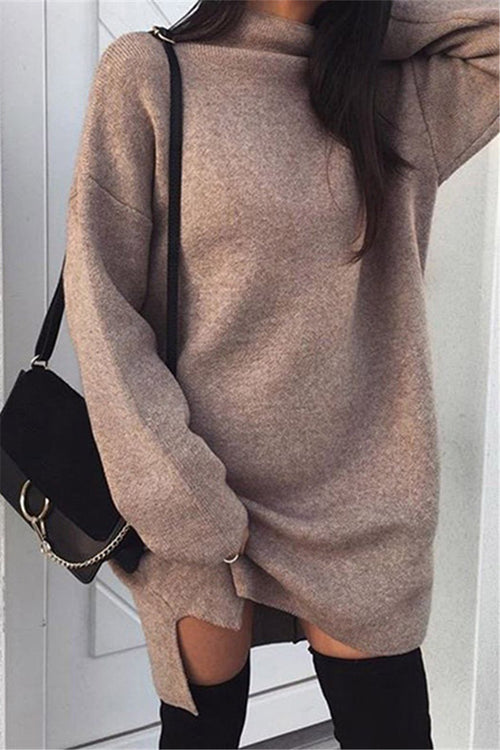 Chicnico Cozy Sweater Dress