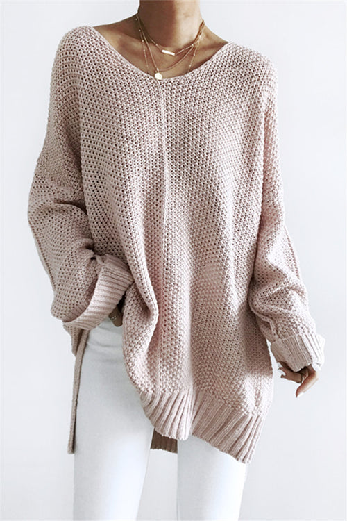 Chicnico Loose  Knit Sweater