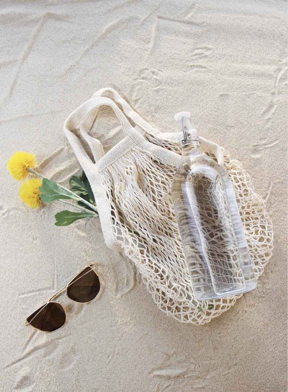Chicnico Popular Woven Beach Hollow Fishnet Bag