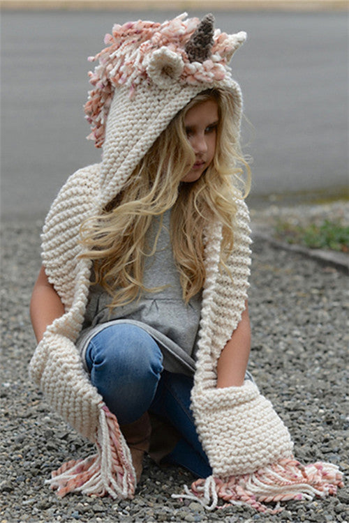 Chicnico Cute Horn Knit Hat