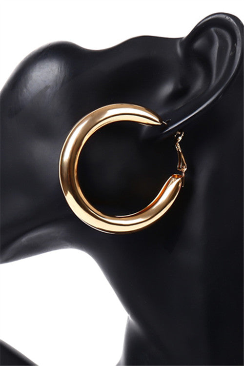 Chicnico Simple Circle Earring