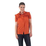 CHARLIE BREASTFEEDING TOP - RUST