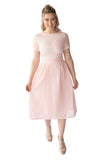LEXI BREASTFEEDING FORMAL DRESS - PINK