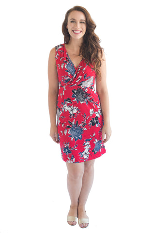 LOLA BREASTFEEDING MIDI DRESS - CLEARANCE