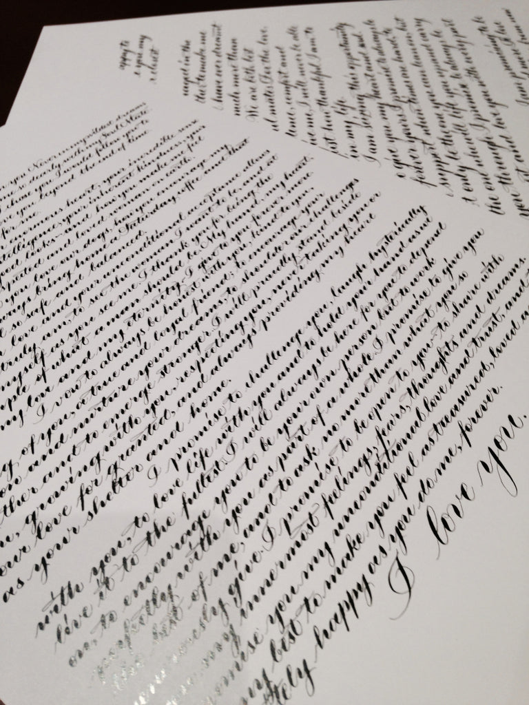 How Deliberate Practice Will Make You a Better Calligrapher