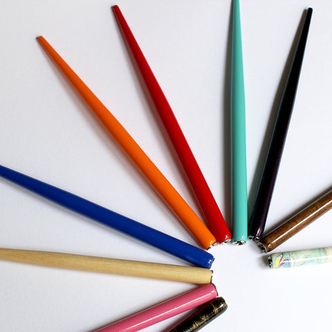Straight Pen Holder multiple colours