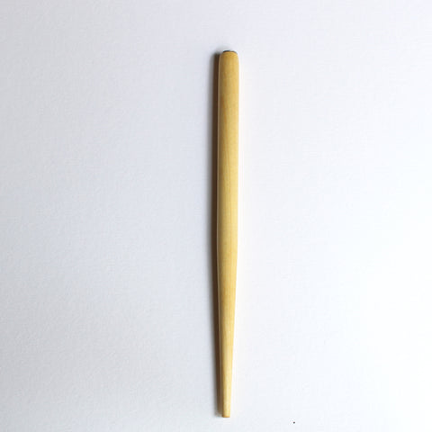 Straight Calligraphy Pen Holder in natural wood