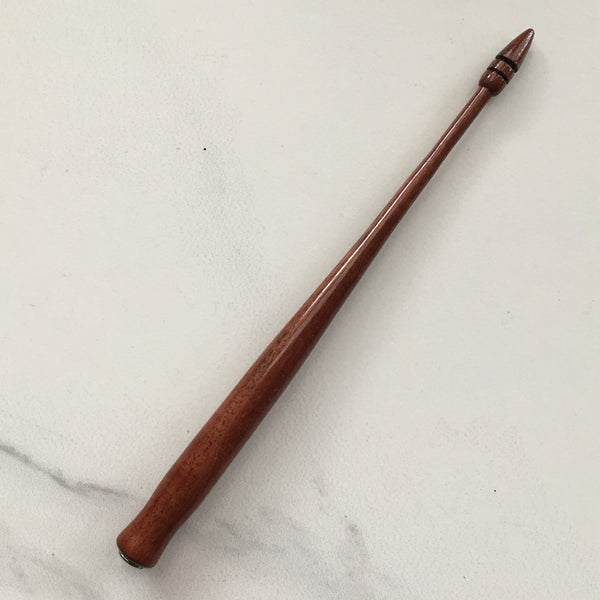 Straight pen holder for calligraphy in Red Gum, handmade in Melbourne, Calligraphy Supplies Australia