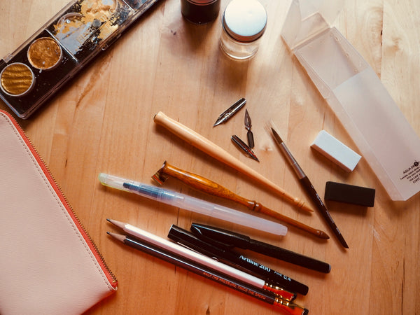 The Travelling Calligraphy Kit