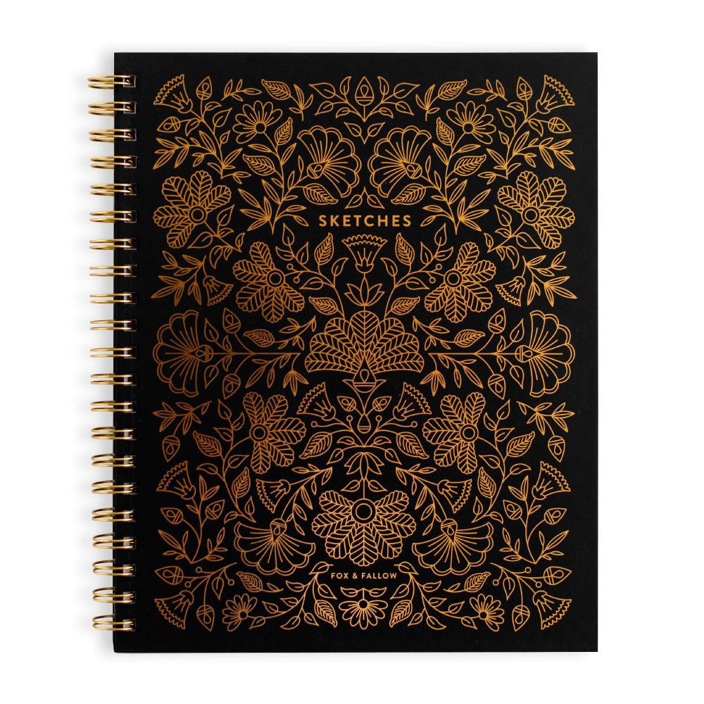 Fox & Fallow Pyrite Luxury Sketchbook