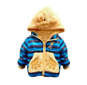 Cozy Baby boys Bear Winter Coat