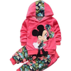 Cute Minnie Mouse Floral  Hoodie & Pants