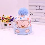 Newborn Bear Winter Hats