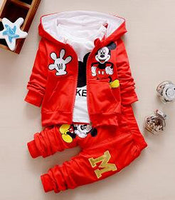 3 Piece Outfit Hoodie Set
