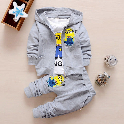 Despicable Me Cotton Minion Unisex Clothing Set