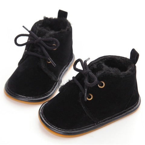 Soft Non-slip Lace-up First Walkers Shoes