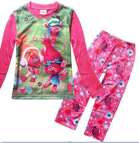 New Trolls Girls Pajama Sets