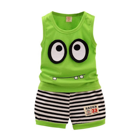 Minions Summer Time Outfit 2pc's set