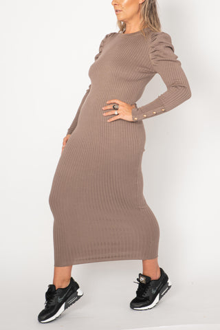 Taupe Ribbed Rider