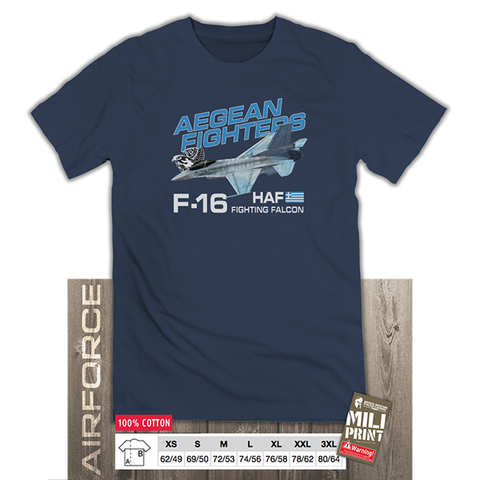 HAF F-16 AEGEAN FIGHTERS T-SHIRT