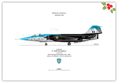F-104G STARFIGHTER - miliprint