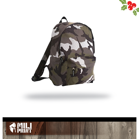 CAMO BACK PACK WITHOUT PRINT - miliprint