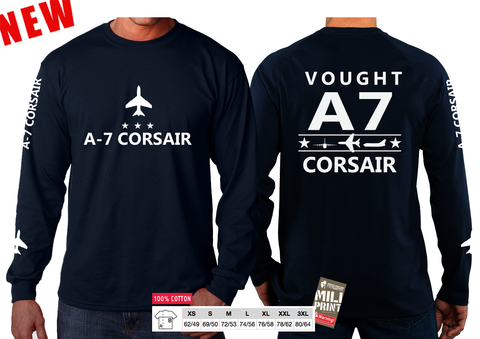 A-7 CORSAIR SLEEVE T-SHIRT
