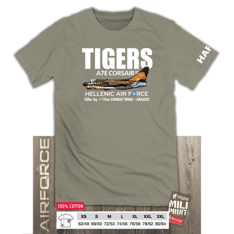 "A-7E CORSAIR II ""TIGERS"" T-SHIRT"