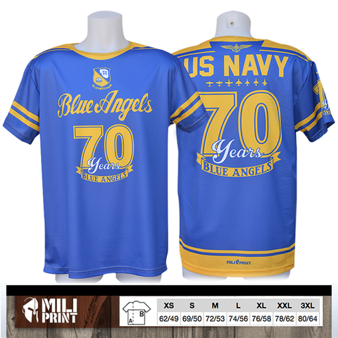 BLUE ANGELS – 70 Years History (1946-2016)  Τ-SHIRT - miliprint