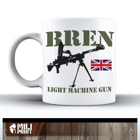 BREN LIGHT MASHINE GUN - MUG