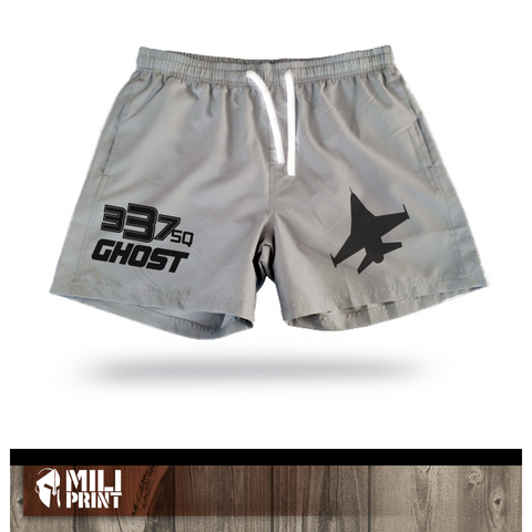 337SQN GHOST - SWIMWEAR SHORT - miliprint