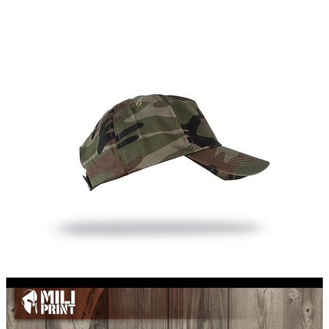 01 CAMO HAT WITHOUT PRINT - miliprint