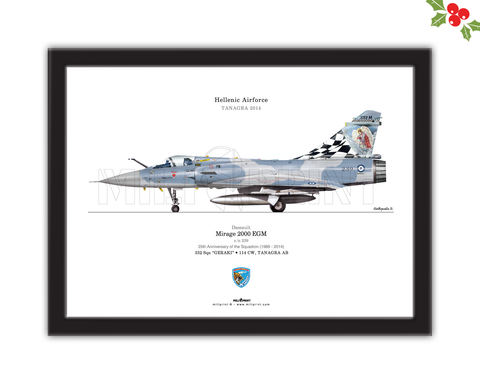 MIRAGE 2000 EGM (HAF) - miliprint