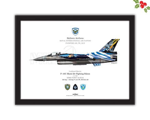DEMO TEAM F-16 ZEUS (HAF) - miliprint