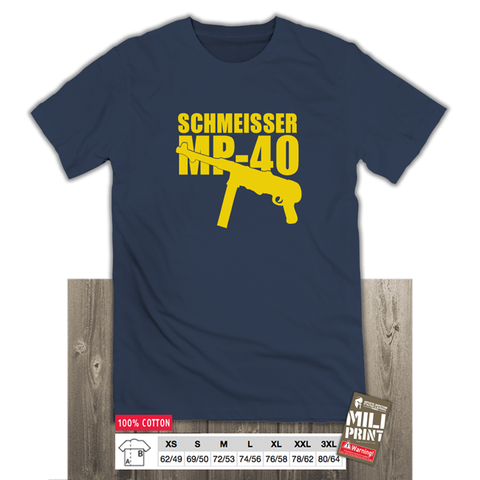 SCHMEISSER MP-40 T-SHIRT - miliprint