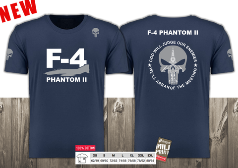 01 PUNISHER F-4 PHANTOM II T-SHIRT