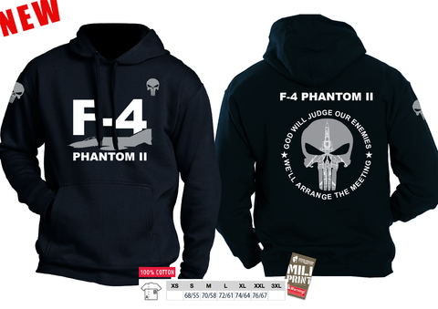 01 HOODIE PUNISHER F-4 PHANTOM II