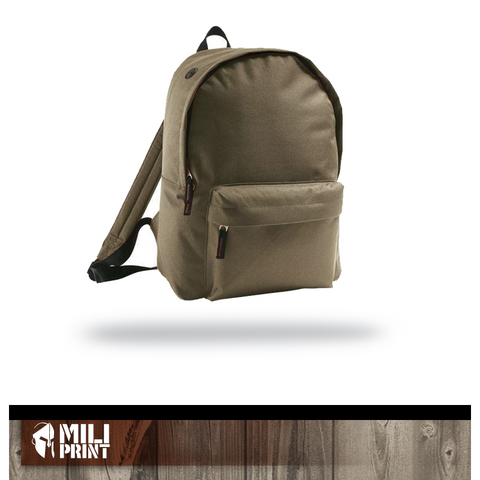 BACK PACK WITHOUT PRINT - miliprint