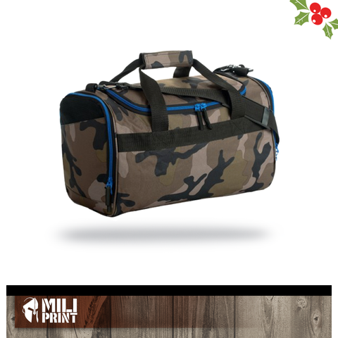 CAMO SPORTS BAG WITHOUT PRINT - miliprint