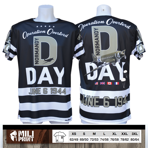 PRE-ORDER NORMANDY D-DAY 1944 T-SHIRT - miliprint